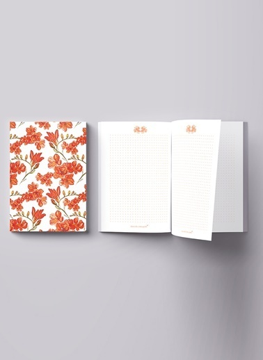 LWP Shop Fire Lily Notebook Renkli